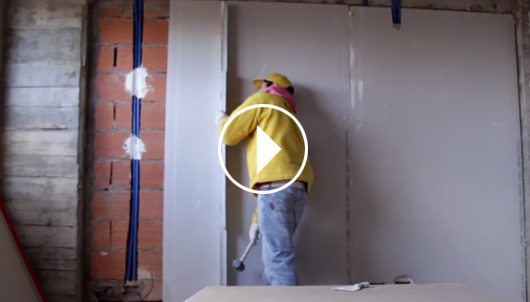 Placas durlock revoque seco durlock sitio oficial for Paredes sin revocar