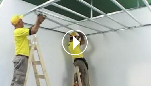 Cielorrasos desmontables deco clasic durlock sitio for Modelos de yeso para techos