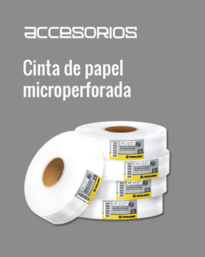 Cinta de papel microperforada